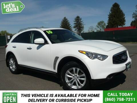 2010 Infiniti FX35 for sale at Shamrock Motors in East Windsor CT