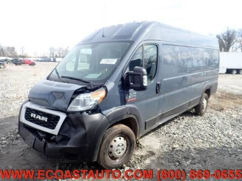 2019 RAM ProMaster Cargo for sale at East Coast Auto Source Inc. in Bedford VA
