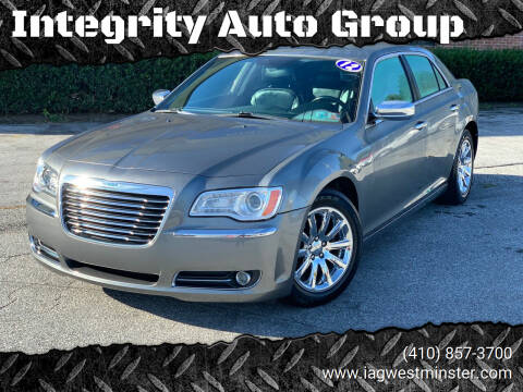 2012 Chrysler 300 for sale at Integrity Auto Group in Westminister MD