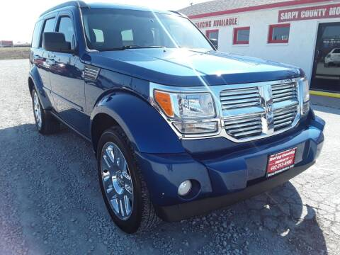 2010 Dodge Nitro for sale at Sarpy County Motors in Springfield NE