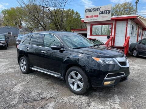 2010 Acura MDX for sale at Crosby Auto LLC in Kansas City MO