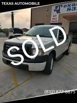 2010 Ford F-150 for sale at TEXAS AUTOMOBILE in Houston TX