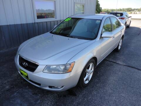 2007 Hyundai Sonata for sale at Moss Service Center-MSC Auto Outlet in West Union IA