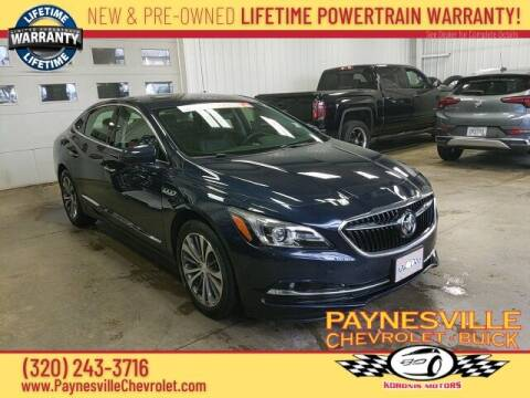 2017 Buick LaCrosse for sale at Paynesville Chevrolet - Buick in Paynesville MN
