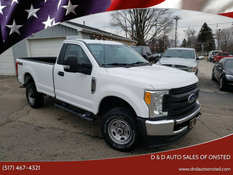 2017 Ford F-250 Super Duty for sale at D & D Auto Sales Of Onsted in Onsted   Brooklyn MI