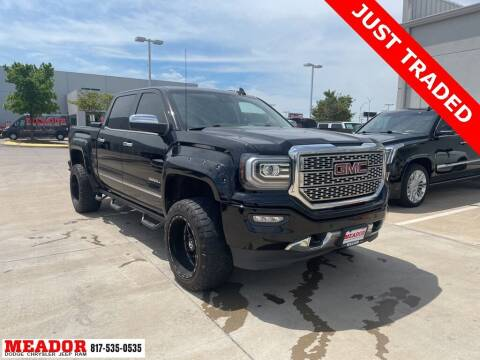 2016 GMC Sierra 1500 for sale at Meador Dodge Chrysler Jeep RAM in Fort Worth TX