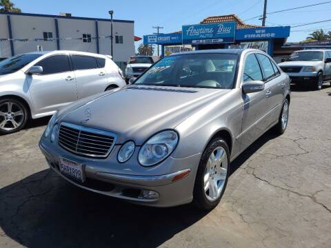 2003 Mercedes-Benz E-Class for sale at ANYTIME 2BUY AUTO LLC in Oceanside CA