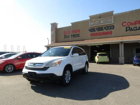 2009 Honda CR-V for sale at Import Motors in Bethany OK