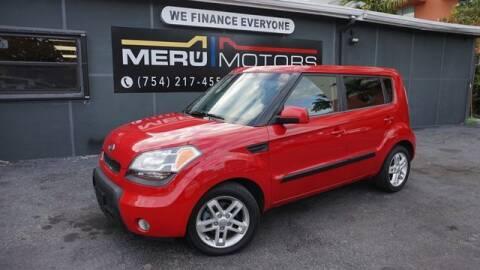 2011 Kia Soul for sale at Meru Motors in Hollywood FL