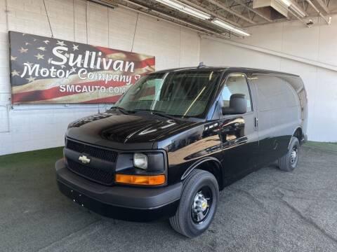 2016 Chevrolet Express Cargo for sale at SULLIVAN MOTOR COMPANY INC. in Mesa AZ