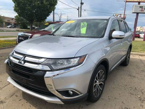 2016 Mitsubishi Outlander for sale at Cars To Go in Lafayette IN