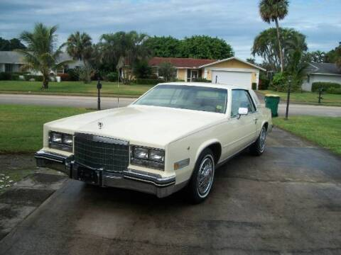 1984 Cadillac Eldorado for sale at Classic Car Deals in Cadillac MI