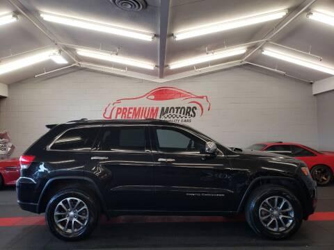 2014 Jeep Grand Cherokee for sale at Premium Motors in Villa Park IL