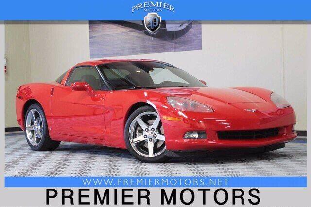 2007 Chevrolet Corvette for sale at Premier Motors in Hayward CA