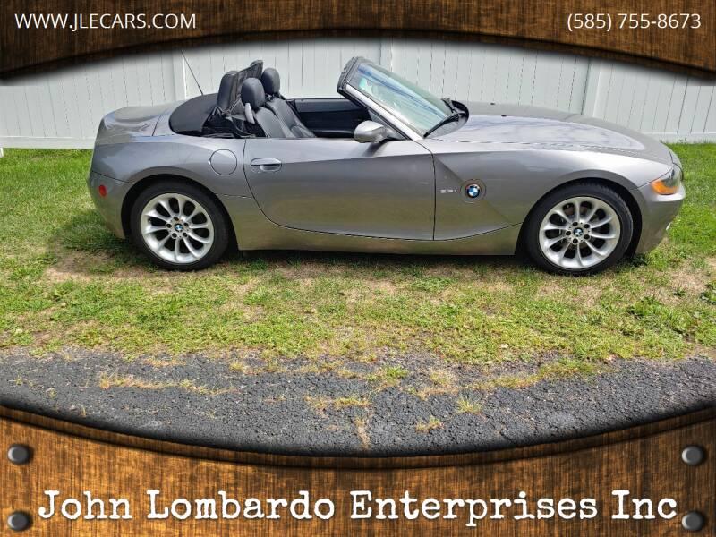 2003 BMW Z4 for sale at John Lombardo Enterprises Inc in Rochester NY