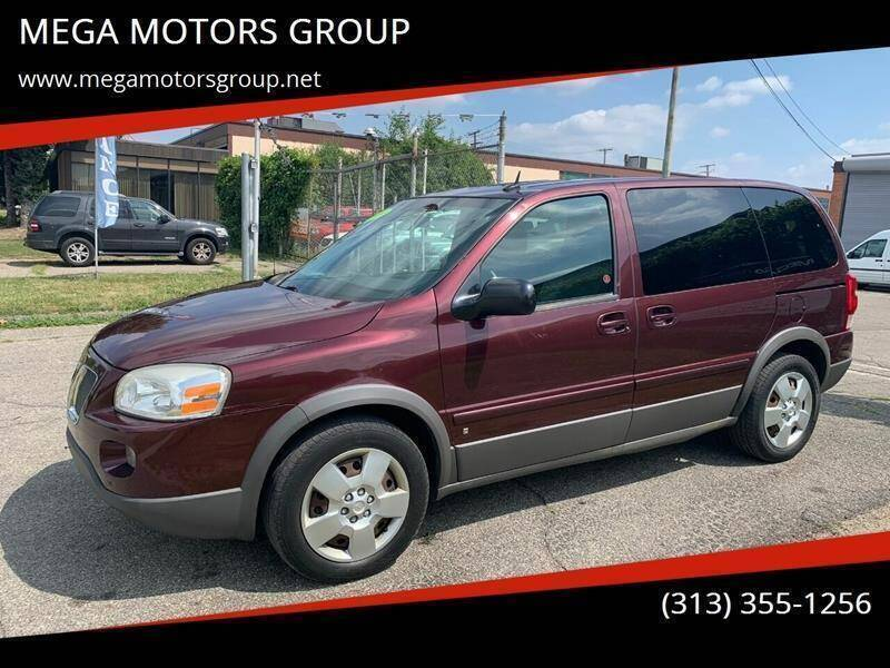 2009 Pontiac Montana SV6 for sale at MEGA MOTORS GROUP in Redford MI