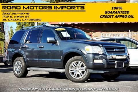 2010 Ford Explorer for sale at Road Motors Imports in El Cajon CA