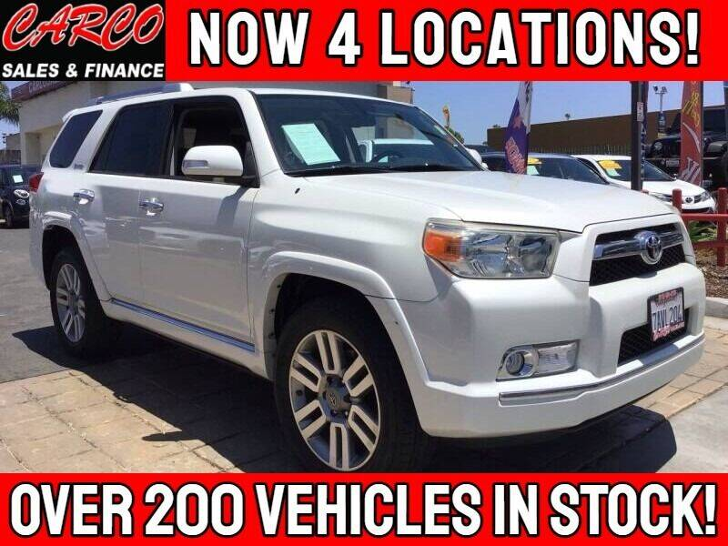 2013 Toyota 4Runner for sale at CARCO SALES & FINANCE - CARCO OF POWAY in Poway CA