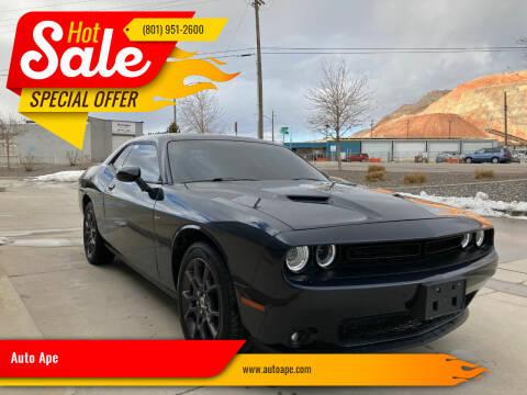 2018 Dodge Challenger for sale at Auto Ape in Salt Lake City UT