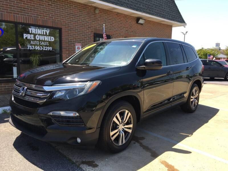 2017 Honda Pilot for sale at Bankruptcy Car Financing in Norfolk VA