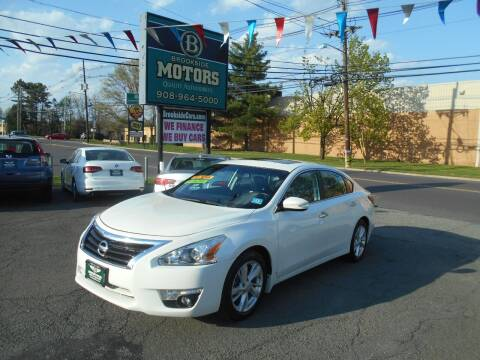 2014 Nissan Altima for sale at Brookside Motors in Union NJ