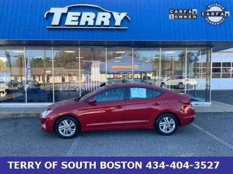 2019 Hyundai Elantra for sale at Terry of South Boston in South Boston VA