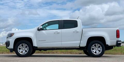 2021 Chevrolet Colorado for sale at Palmer Auto Sales in Rosenberg TX