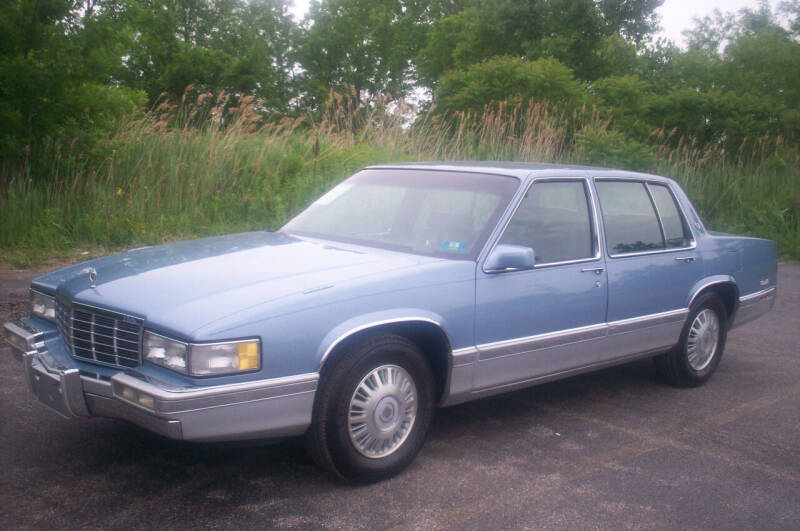 1991 Cadillac DeVille for sale at Action Auto Wholesale - 30521 Euclid Ave. in Willowick OH