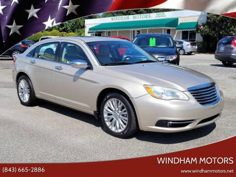 2013 Chrysler 200 for sale at Windham Motors in Florence SC