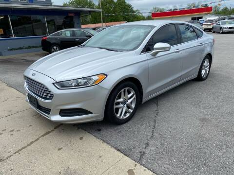 2013 Ford Fusion for sale at Wise Investments Auto Sales in Sellersburg IN