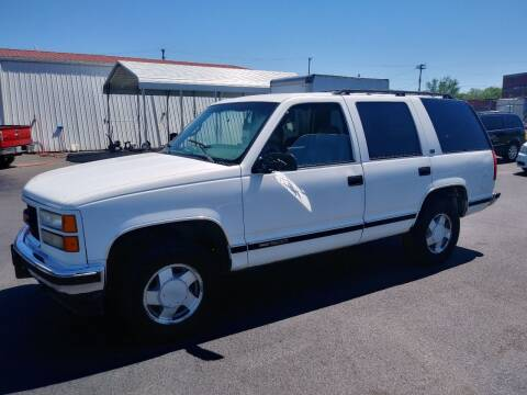 1996 GMC Yukon for sale at Big Boys Auto Sales in Russellville KY