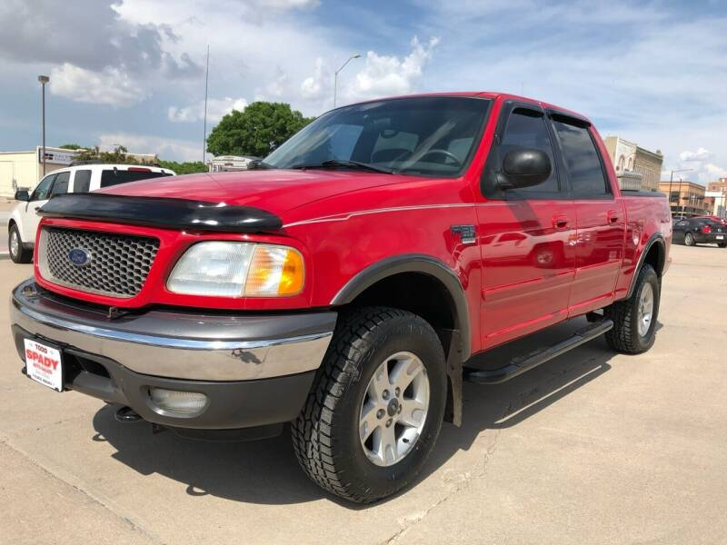 2002 Ford F-150 for sale at Spady Used Cars in Holdrege NE