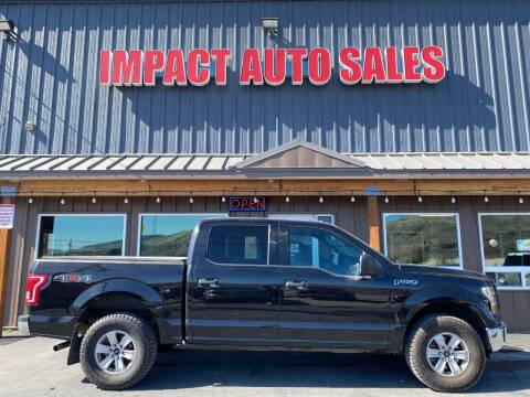 2015 Ford F-150 for sale at Impact Auto Sales in Wenatchee WA