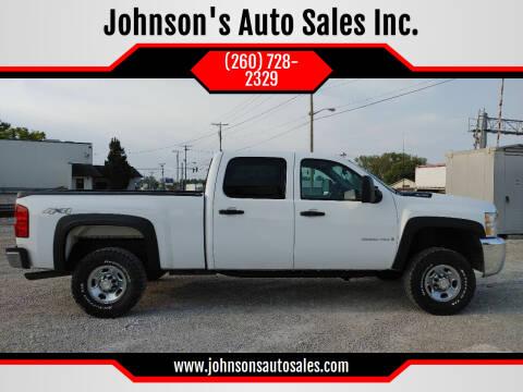 2009 Chevrolet Silverado 2500HD for sale at Johnson's Auto Sales Inc. in Decatur IN