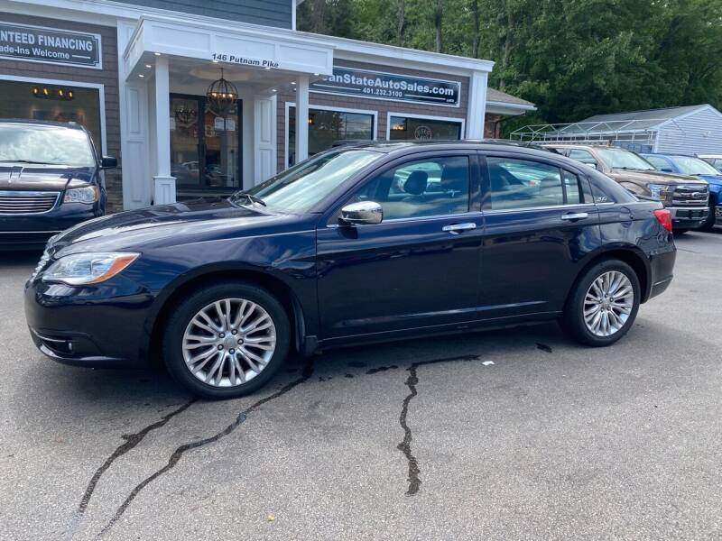 2012 Chrysler 200 for sale at Ocean State Auto Sales in Johnston RI