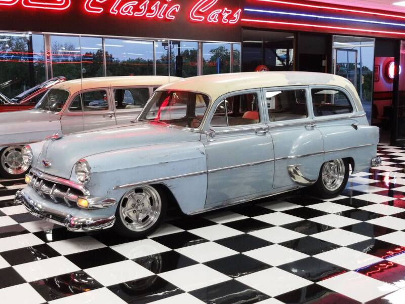 1954 Chevrolet WAGON for sale at Wagner's Classic Cars in Bonner Springs KS