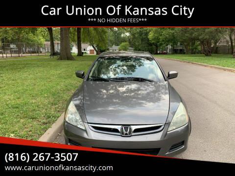 2006 Honda Accord for sale at Car Union Of Kansas City in Kansas City MO