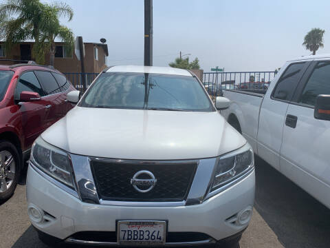 2013 Nissan Pathfinder for sale at GRAND AUTO SALES - CALL or TEXT us at 619-503-3657 in Spring Valley CA