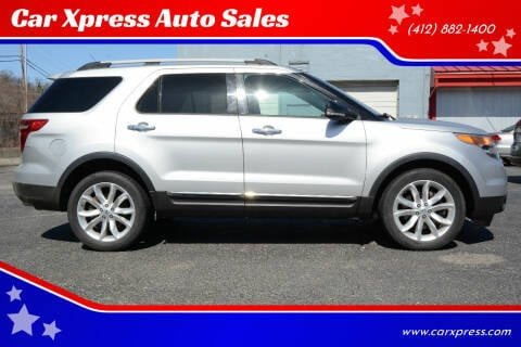 2013 Ford Explorer for sale at Car Xpress Auto Sales in Pittsburgh PA