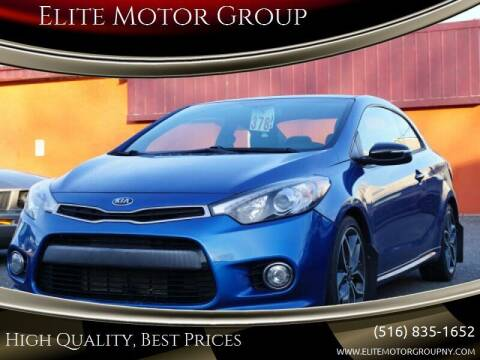 2015 Kia Forte Koup for sale at Elite Motor Group in Farmingdale NY