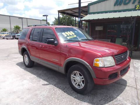 2002 Ford Explorer for sale at MOTION TREND AUTO SALES in Tomball TX