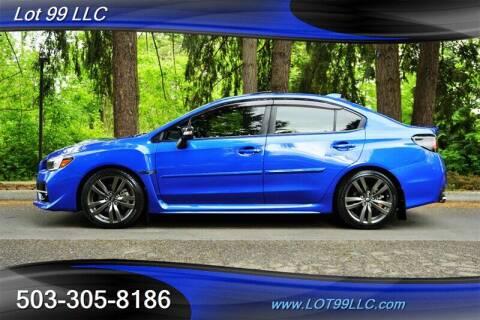 2017 Subaru WRX for sale at LOT 99 LLC in Milwaukie OR