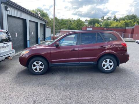 2008 Hyundai Santa Fe for sale at Sisson Pre-Owned in Uniontown PA