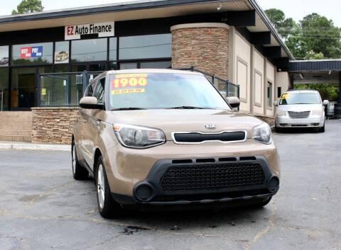 2016 Kia Soul for sale at EZ AUTO FINANCE in Charlotte NC