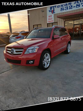 2012 Mercedes-Benz GLK for sale at TEXAS AUTOMOBILE in Houston TX