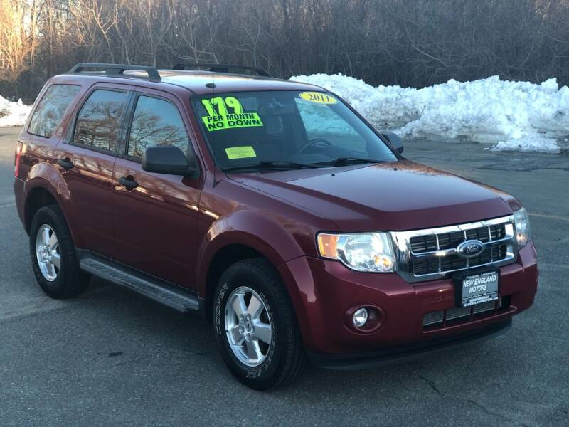 2011 Ford Escape for sale at New England Motors of Leominster, Inc - New England Motors of Fitchburg in Fitchburg MA