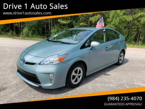 2015 Toyota Prius for sale at Drive 1 Auto Sales in Wake Forest NC