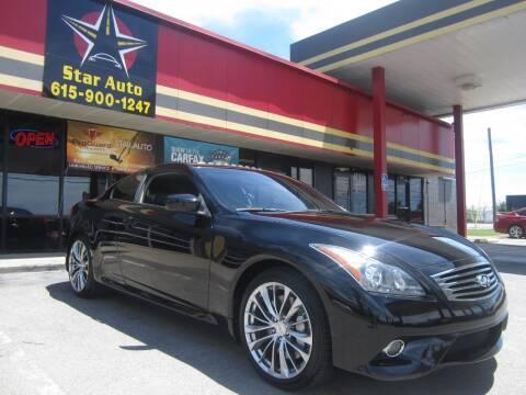 2013 Infiniti G37 Coupe for sale at Star Auto Inc. in Murfreesboro TN