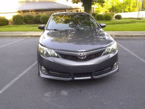 2012 Toyota Camry for sale at Wheels To Go Auto Sales in Greenville SC
