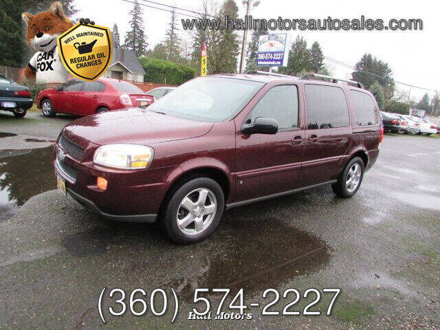 2008 Chevrolet Uplander for sale at Hall Motors LLC in Vancouver WA